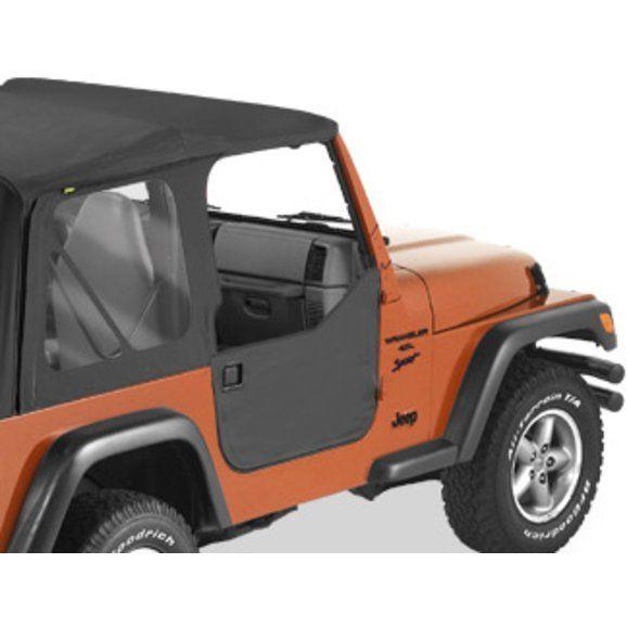 Bestop Half Doors For 97 06 Jeep Wrangler Tj Unlimited Jeep Half Doors Jeep Wrangler Jeep Wrangler Tj