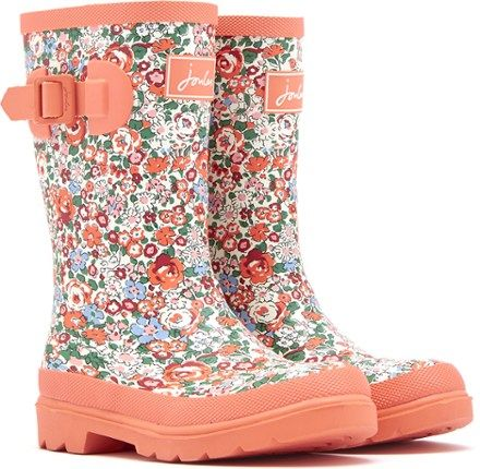 Joules Girl's Welly Rain Boots