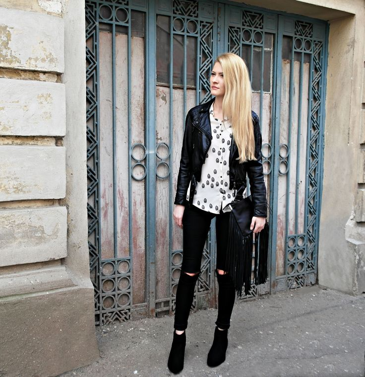 Black&white outfit