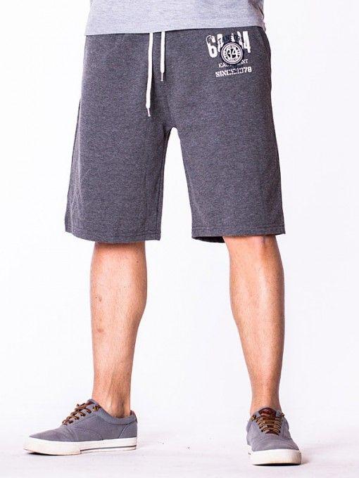Pantaloni scurti barbati 6494 gri