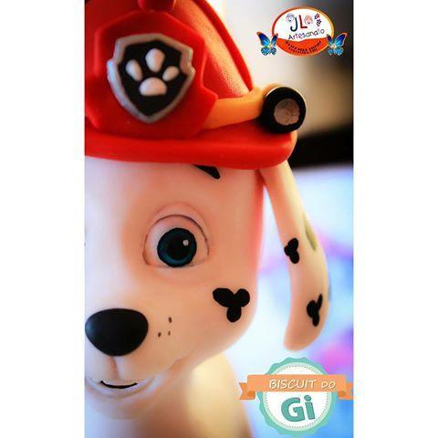Boa tarde a todos! Sempre quis ter um Dálmata rs Segue o trabalho, Marshall da Patrulha Canina em construção...🐶🚒 Amando fazer esse trabalho! Orçamentos e encomendas pelo e-mail: biscuitdogioficial@gmail.com >>VAGAS SOMENTE PARA FINAL DE NOVEMBRO<< #biscuitdogi #biscuit #coldporcelain #porcelanafria #massademodelar #makingof #patrulhacanina #marshall #dog #bombeiro #festainfantil #decoração #artesanato #cute #fofinho #myjob