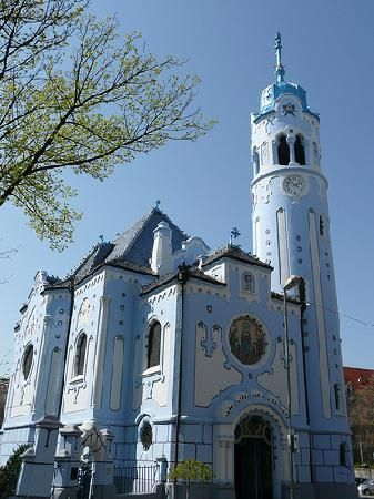 The Blue Church of St. Elizabeth - Bratislava, Slovakia