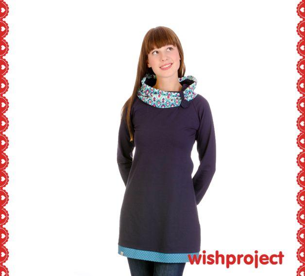 Entdecke lässige und festliche Kleider: Kleid Blumen Klee, Retro made by wishproject via DaWanda.com