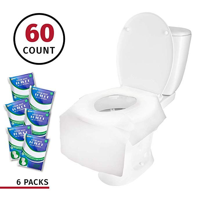 Amazon Com Banana Basics X Large Disposable Paper Toilet Seat