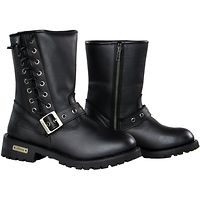 LeatherUp.com has the largest selection of stylish Ladies Motorcycle Boots at the guaranteed lowest prices. Free Shipping! No Hassle Returns!