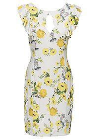 Šaty s kvetovanou potlačou Skvelé šaty • 27.99 € • bonprix