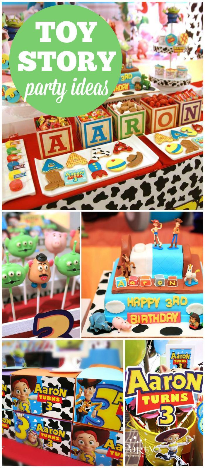 Toy story party ideas birthday in a box - Toy Story Birthday Aaron S 3rd Birthday Party