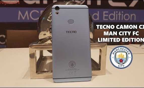 Tecno Camon CX Manchester City Football Club Limited Edition - Quick Look