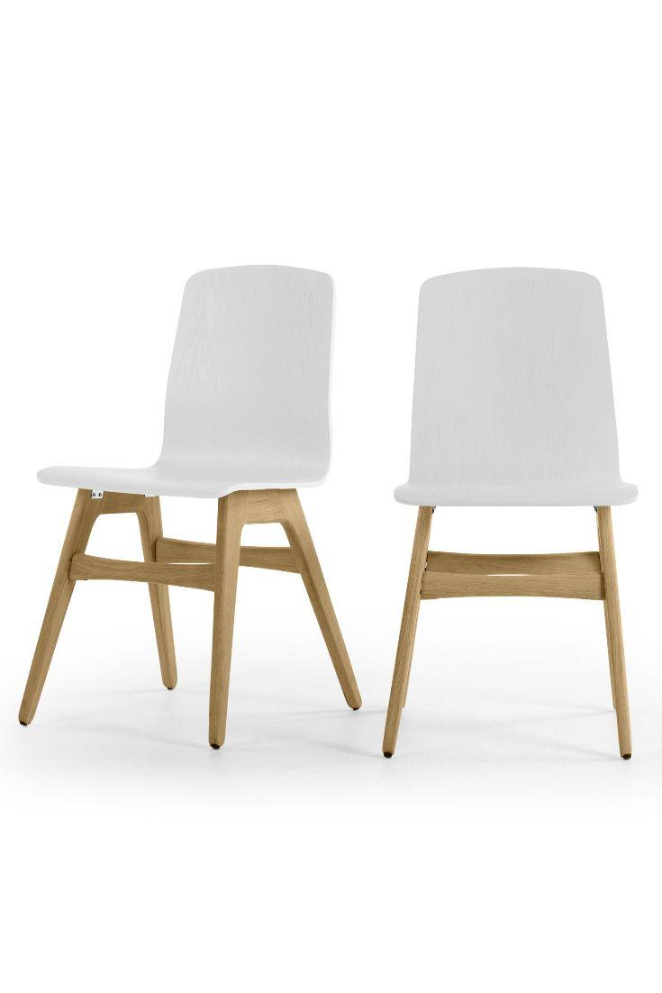 Dante 2 X Dante Esszimmerstühle; Eiche Und Weiß ▻ Neues Design Für Dein  Zuhause! Entdecke Jetzt Stühle In Vielen Styles Bei MADE.COM Mit Lieferung  Direkt ...