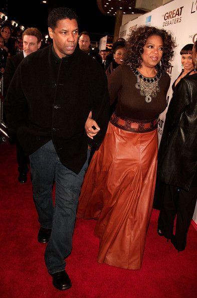 Oprah Winfrey and Denzel Washington Photos - Premiere Of MGM's ...
