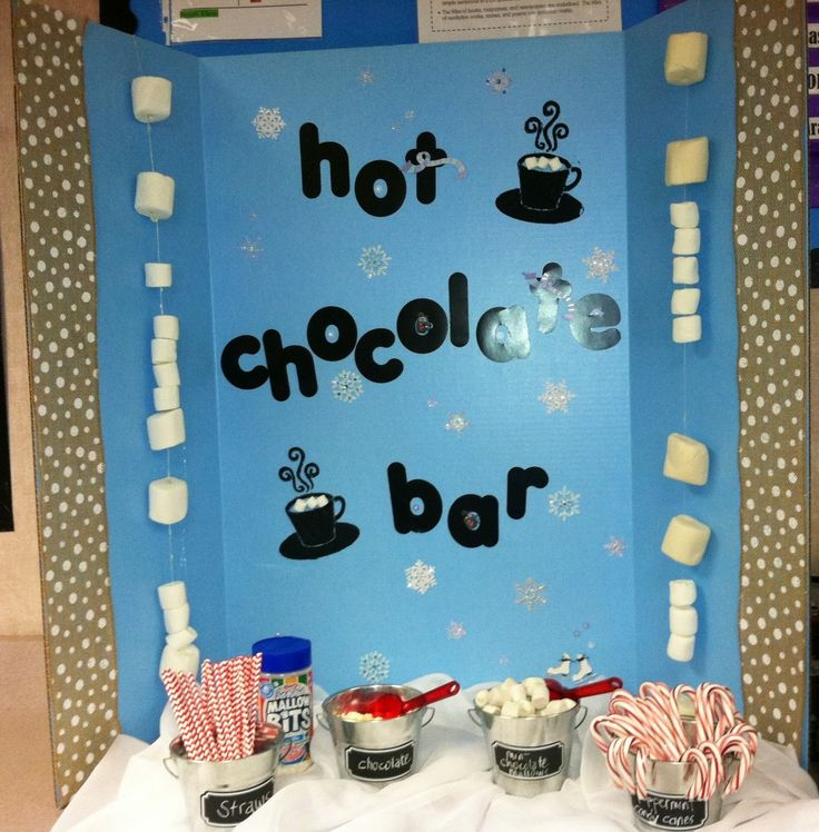 Elementary Christmas Party Ideas Part - 44: Inspired! Project Organized {hot Chocolate Bar For Kids} #11 Of 30. Hot  Chocolate BarsChocolate ShopPreschool FamilySchool PartiesSchool Christmas  ...