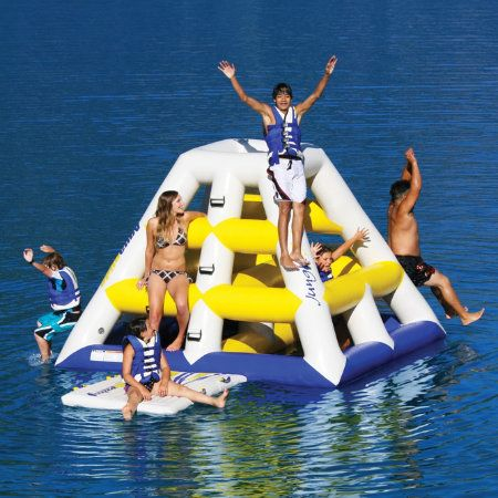 Overton's : Aquaglide Jungle Jim Water Play Station - Watersports > Trampolines & Water Toys > Water Trampolines :