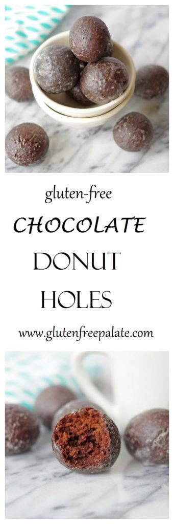 Gluten-Free Chocolate Donut Holes that are rich, chocolaty, and perfectly tender. You may never go back to store bought donuts again.