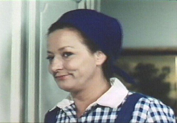 som Kokkepigen Johanne, i De fem filmene fra 1969 og 1970.