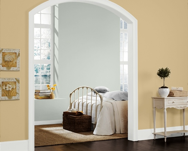 Paint Colors Guest Room Sw6204 Sea Salt Hallway