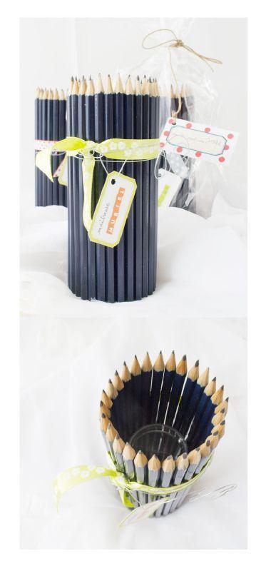 Cadeaux institutrices, idée dénichée dans les trésors de Pinterest :)