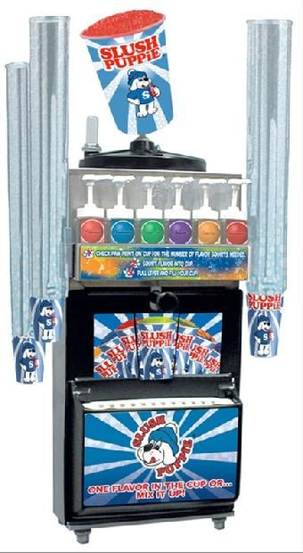 #4 Both kids want these maybe we can get one for both. Stoelting Slush Puppie 100-C Slush Machine