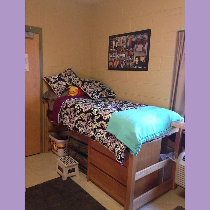 my dorm room at Gwynedd Mercy College 2013 #dormroom #love #perfect