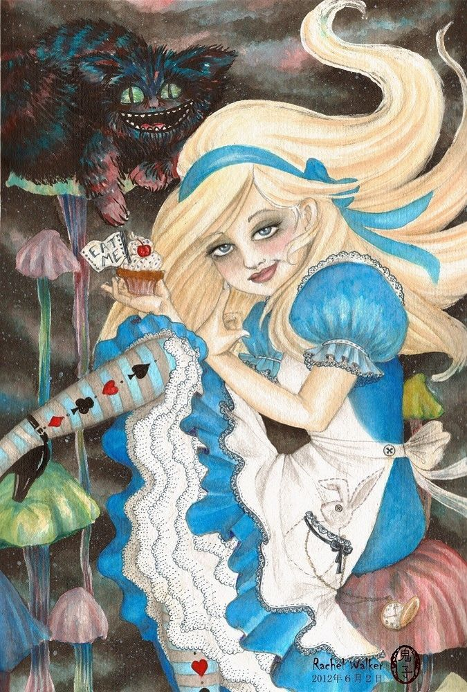 110 besten Alice in wonderland Bilder auf Pinterest   Wunderland ...
