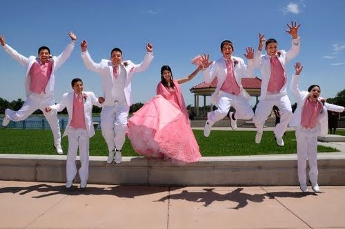 "Quinceanera Ideas @Luisa Hernandez it reminds me of that video ""Mi Sexy Chambelan"""