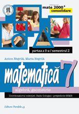 Seria de lucrari MATE 2000 CONSOLIDARE, destinata claselor de gimnaziu, respecta toate cerintele programei scolare actuale de matematica referitoare la competente generale, competente specifice si continuturi, oferind sugestii metodologice dintre cele mai atractive.