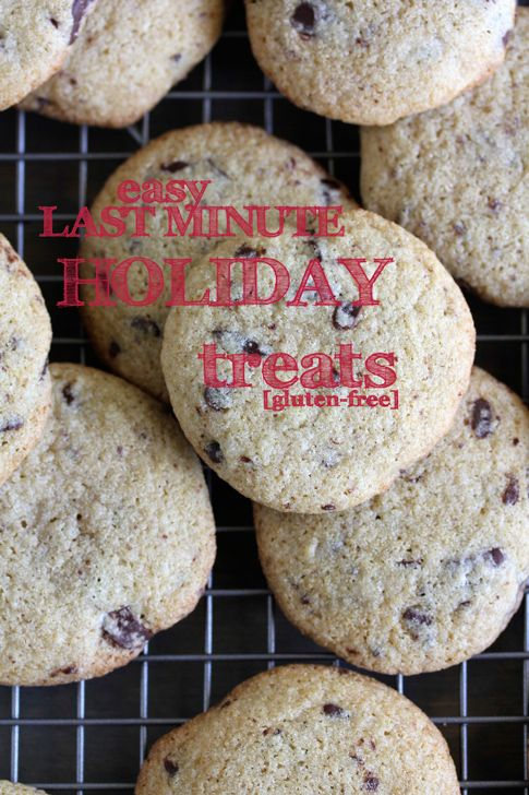 Easy, Last Minute #Holiday #Treats, #Gluten-free!