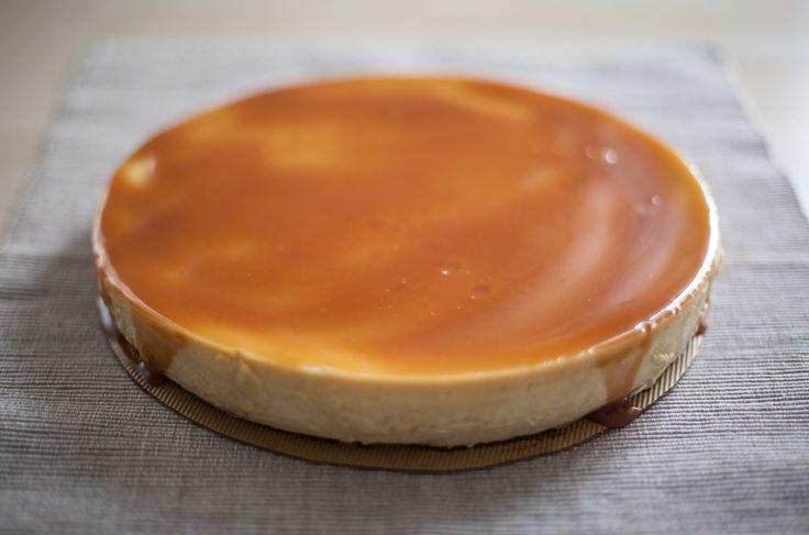 Sernik karmelowy / Caramel (toffee) cheesecake http://bit.ly/sernikarmel