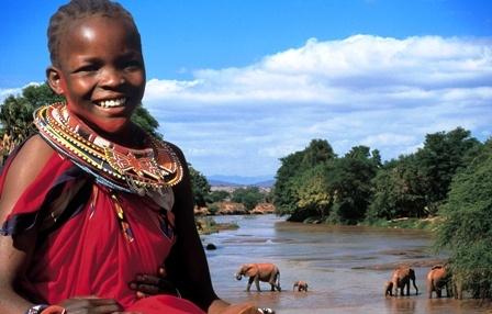 PARQUE NACIONAL DE SAMBURU: Al Norte de la línea del ecuador se encuentra Samburu (que significa mariposa), tiene 225 km2 y está en una zona que es conocida como el distrito de la frontera Norte. En la parte más Este de Samburu se encuentra el ecosistema de Shaba, de 280 km2.