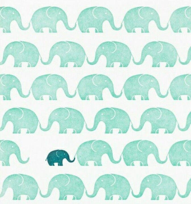 Elefantini carta da parati