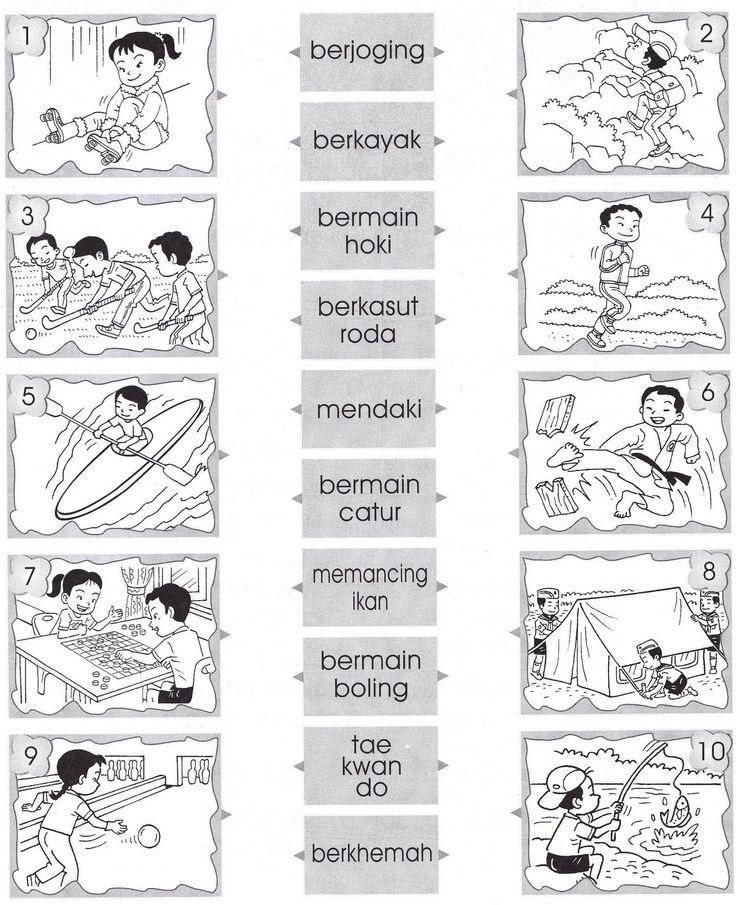 Image Result For Lembaran Kerja Bahasa Melayu Tahun 2 Kata