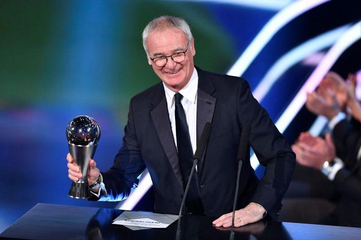 Fifa Top Player: Ranieri e Ronaldo premiati a Zurigo