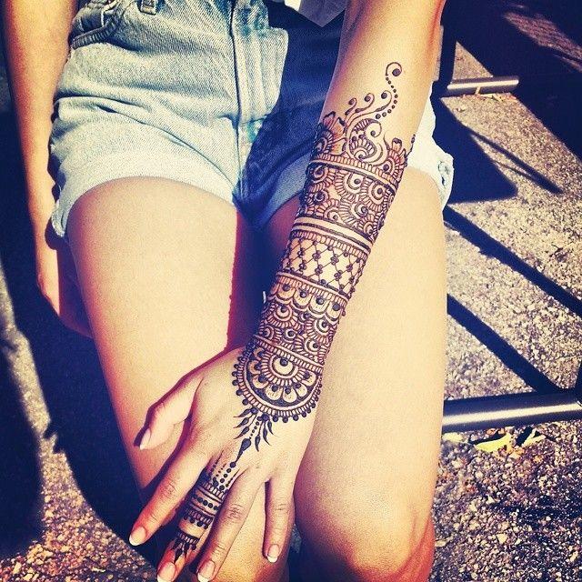 Arm Henna Design #hennabydivya