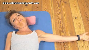 Allungamento muscoli trapezi.