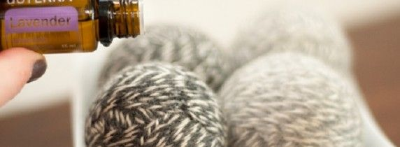 These dryer balls really do fluff and soften your clothes, and a little essential oil (I love Doterra's Purify) makes your clothes smell wonderful