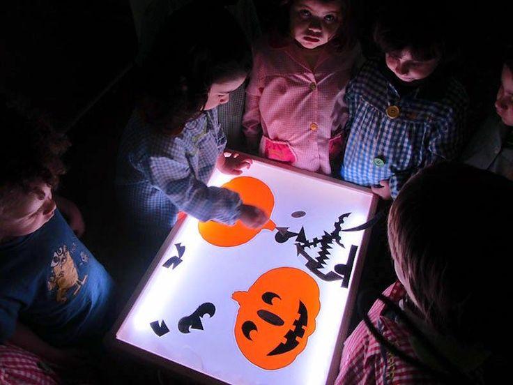 Pasos pequeños: Actividades en la mesa de luz