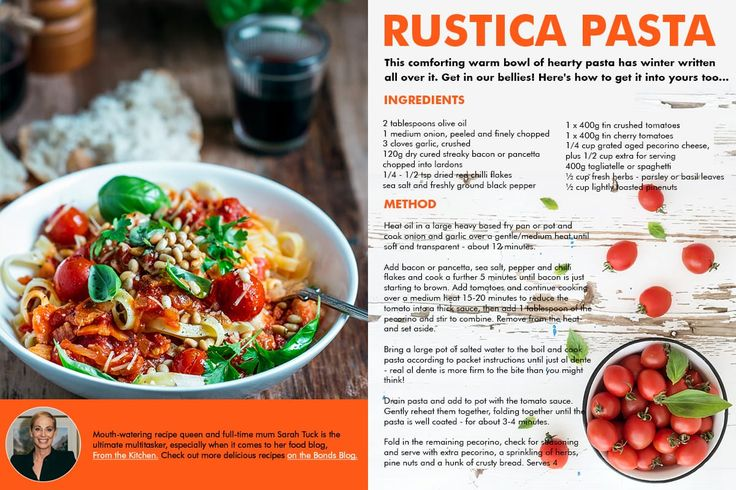 From the Kitchen - Rustica Pasta