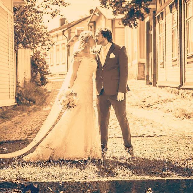 Me and you ❤ #ido #weddinphotography #weddingideas #wedding #married #nowandforever #iloveyou #togetherforever #finland #oldrauma #vanharauma #youandme #ourday #bestdayever (photo: jussijeremiaphotography)