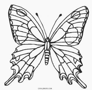 butterfly coloring page - Butterfly Coloring Pages Kids