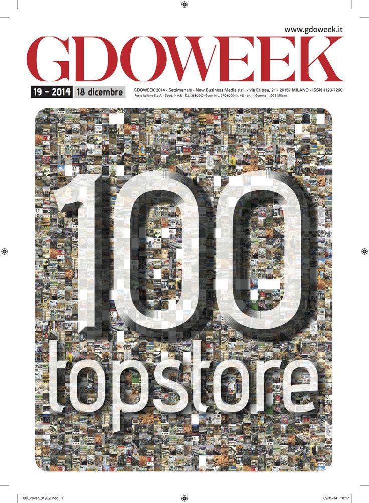 Top Store 2014: the cover http://www.gdoweek.it/gdoweek-18-top-store/