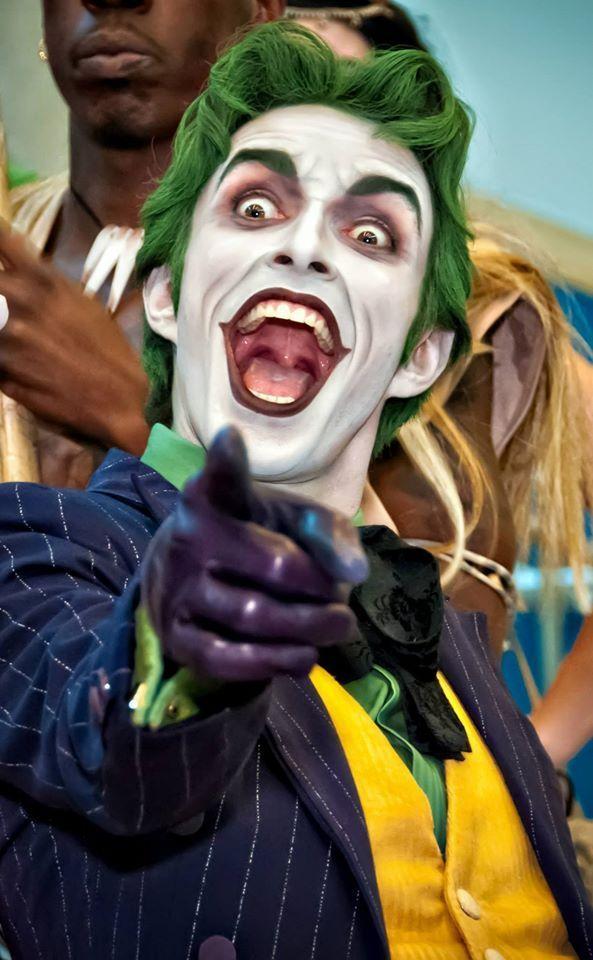 El sorprendente Cosplayer del Joker [Anthony Misiano]