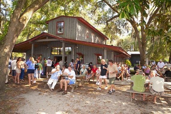 Explore Wadmalaw Island's Firefly Vodka Distillery 30 miles outside of Charleston