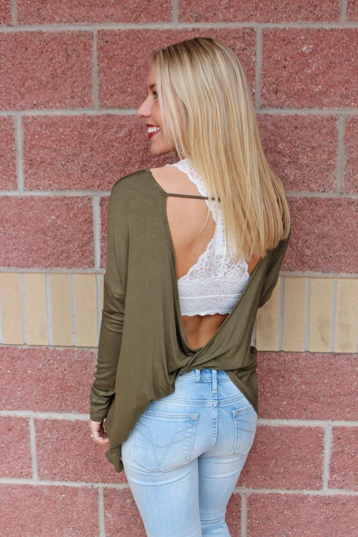 This super popular, best selling top is the perfect match for any of our lace bralettes! True to size. Model is 5'7 size 25 wearing small. Colors are listed in order of picture shown. Off white is sho