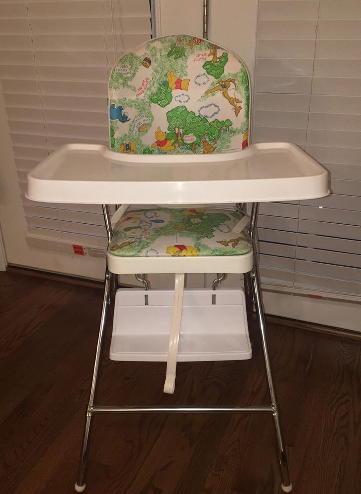 Terrific Vintage Sears Winnie The Pooh Green And White High Chair Ibusinesslaw Wood Chair Design Ideas Ibusinesslaworg