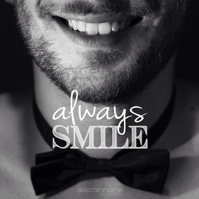 Always Smile (Sorridi Sempre) by @silvia_can #silviacannonephotograph #silviacannonephoto #man #glamour #papillon #black #white