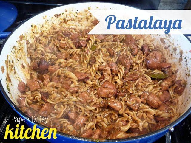 PaperDaisykitchen: Pastalaya, with gluten free options