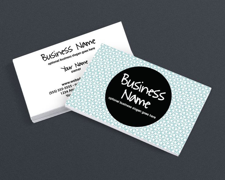 19 best simple business card designs images on pinterest blog modern chic 5 2 sided business card design reheart Gallery
