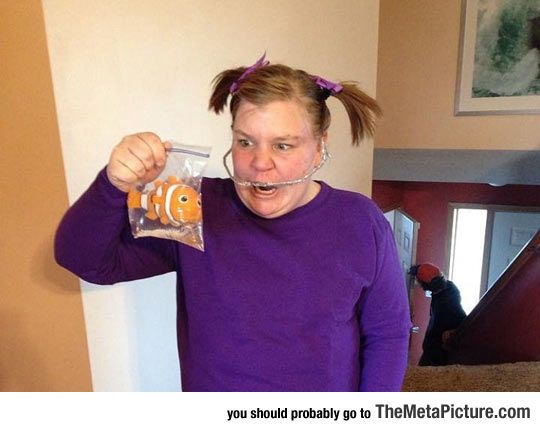 Best Costume Ever, Darla From Finding Nemo