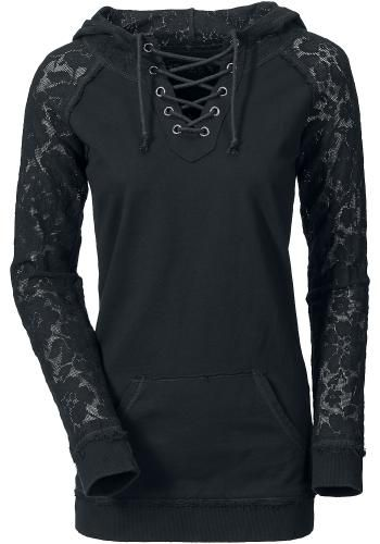 Lace Sleeve - Gothicana by EMP Kapuzenpullover