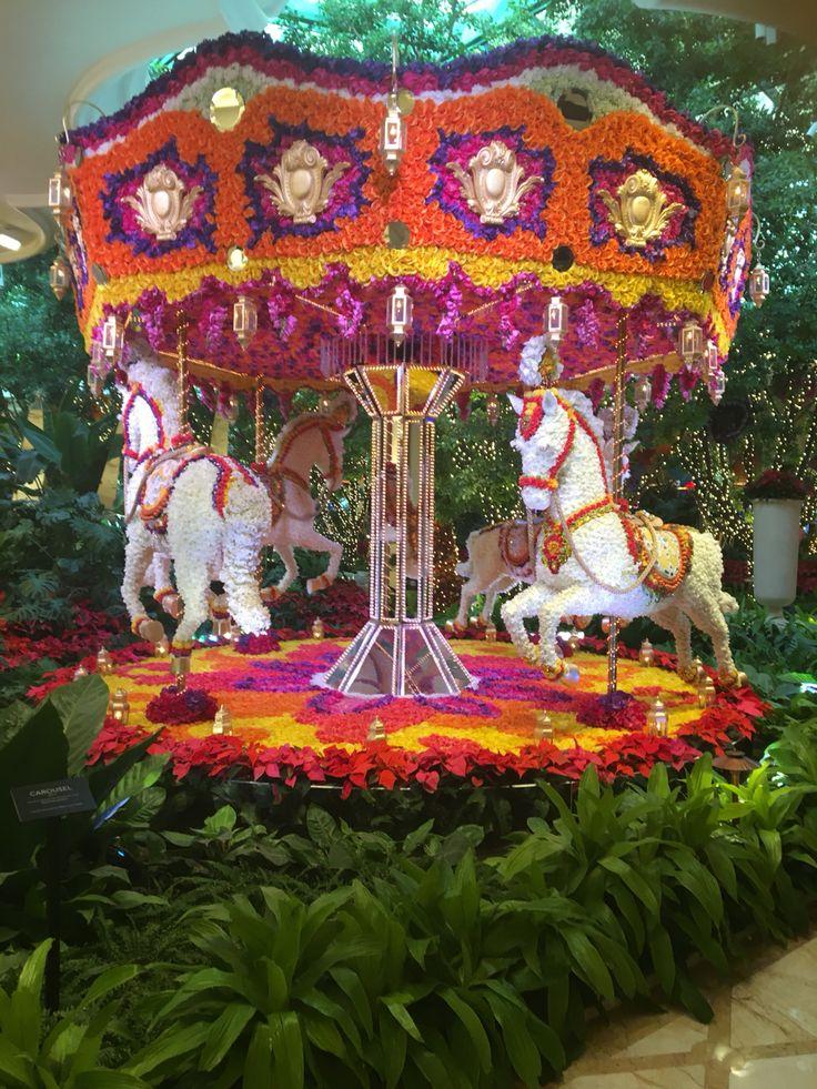 Flowers carousel