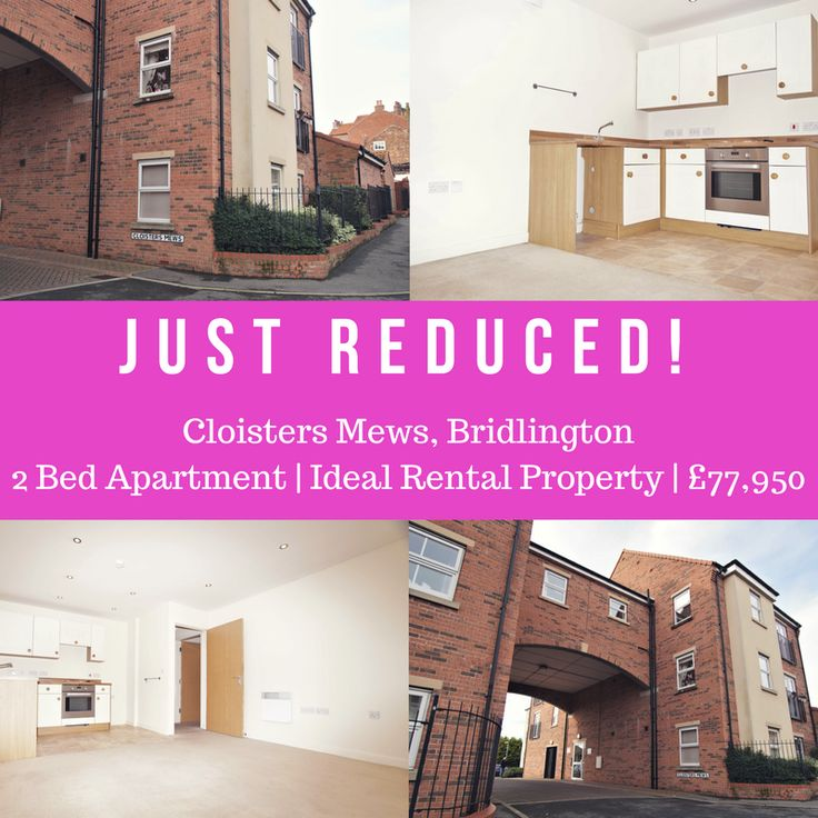 FOUR WALLS OR MORE. IDEAL RENTAL PROPERTY. OLD TOWN BRIDLINGTON. 2 BED APARTMENT